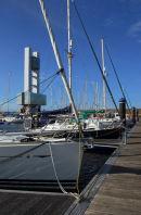 Galicia - A Coruna - Marina + Port Authority Building