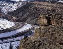 USA: Utah: Interstate 70 near Green River